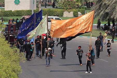 مراسم روز عاشورای حسینی در کیش  |