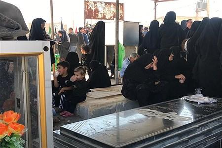 آیین عزاداری حسینی در شهرستان باغملک   Fatemeh Ghanbari