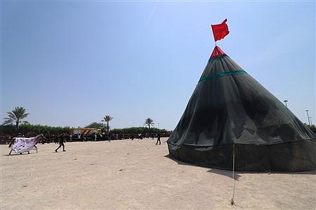 مراسم تعزیه و خیمه سوزان ظهر عاشورا در کیش | Amir Hossein Yeganeh