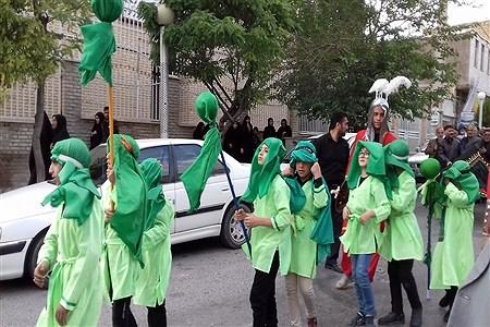 برگزاری مراسم عصر عاشورا در شهرستان فیروزکوه | fatemeh shahosseini