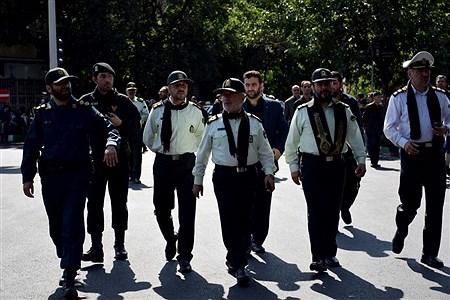 مراسم روز عاشورا در تبریز | mahdi rafiee kia