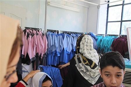 بازدید از فرایند تولید وارائه لباس فرم مدارس در بجنورد | Soraya Farnoodian