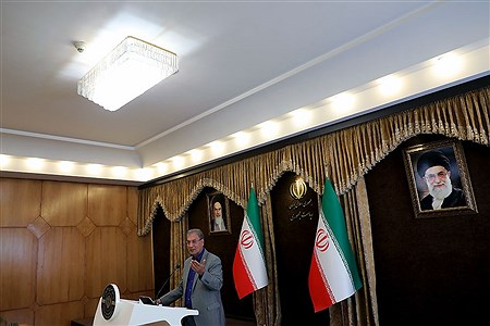 نشست خبری سخنگوی دولت | Bahman Sadeghi