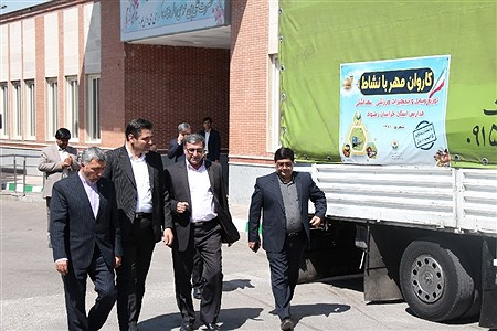 ارسال تجهیزات ورزشی و بهداشتی به 3000 مدرسه استان خراسان رضوی  | Moein Mohammadirokh