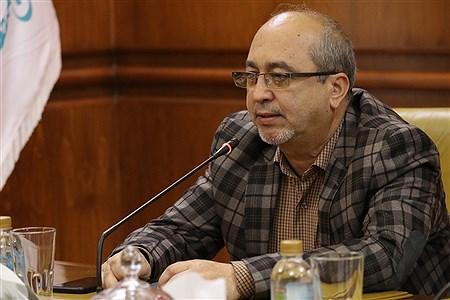 نشست خبری معاون فرهنگی اجتماعی سازمان منطقه ازاد کیش  | Amir Hossein Yeganeh