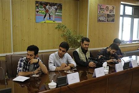 نشست خبری پانزدهمین دوره مسابقات جایزه بزرگ کاراته در ارومیه | Reza Maroufi