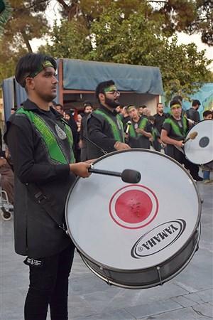 حرکت کاروان اسرای کربلا به صورت نمادین    Ali Ahmad Niya