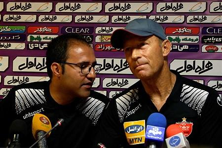 نشست خبری مربیان استقلال و پرسپولیس پیش از بازی دربی   Laya Jebeli