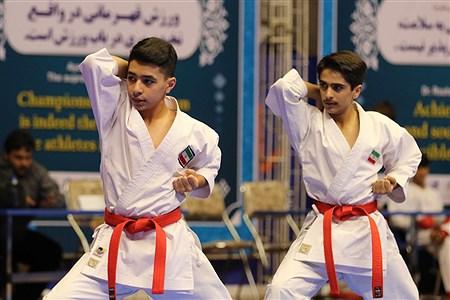 پانزدهمین دوره مسابقات بین المللی کاراته در ارومیه رده سنی جوانان | Amir Hosein Mollazade