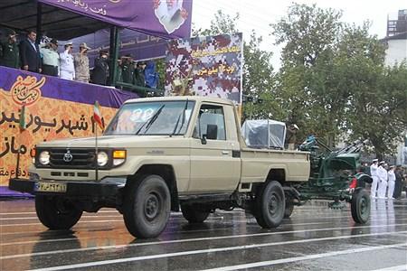 رژه نیروهای مسلح استان مازندران | Abolfazl Akbarj