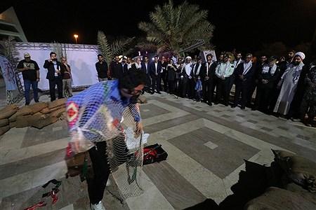 افتاحییه نمایشگاه دفاع مقدس در جزیره کیش | Amir Hossein Yeganeh