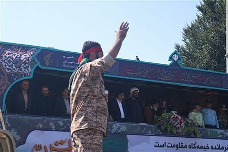 مراسم رژه نیروهای مسلح در همدان | Ali Bayat
