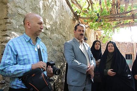 تور بازدید از روستای ملحمدره به مناسبت هفته گردشگری در همدان | Hannaneh Farahani