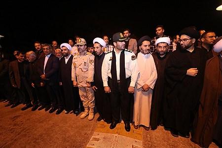 مراسم استقبال از پیکر شهید سردار پاسدار  ابراهیم غلامی در جزیره کیش | Amir Hossein Yeganeh