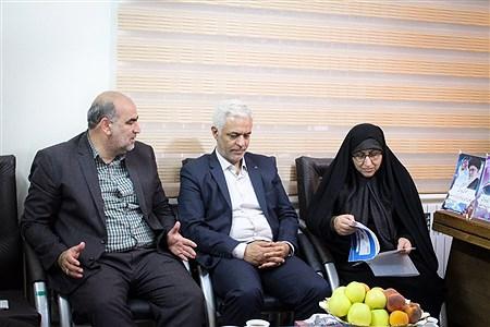 حضور مدیرکل پاسخگویی به شکایات وزارت آموزش و پرورش ازسازمان دانش آموزی آذربایجان غربی | Behzad Golestani