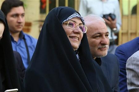 آیین احداث مدرسه خیری به همت خیر نیک اندیش، بتول بختیاری در منطقه 8 آموزش و پرورش | Zahra Alihashemi