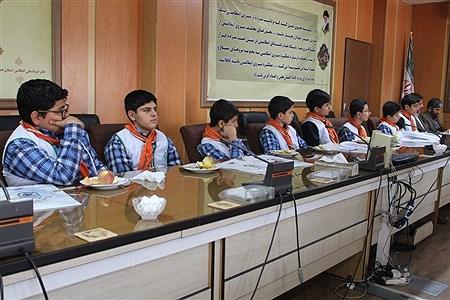 دیدار پیشتازان سازمان دانش آموزی با فرمانده  انتظامی  استان همدان   Sahar Chahardoli