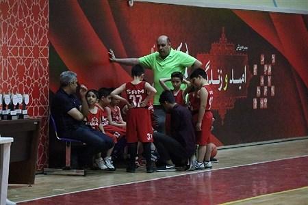 چهارمین دوره مسابقات  لیگ میکرو بسکتبال شهرداری مشهد  در سالن امید و زندگی برگزار شد. | Ehsan hadi