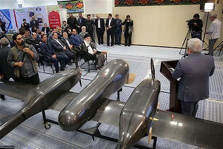 بازدید رهبر انقلاب اسلامی از نمایشگاه شرکتهای دانشبنیان وفناوریهای برتر   Khamenei.ir