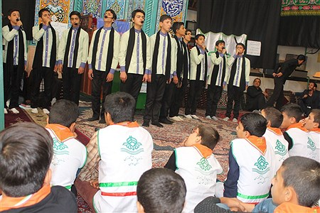 مراسم سوگواری سالار شهیدان در آستانه اربعین حسینی | Sahar Chahardoli