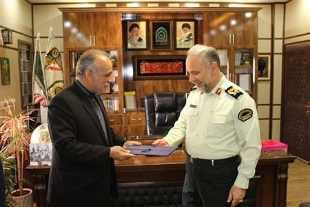 دیدار صمیمی بافرماندهی نیروی انتظامی استان به مناسبت هفته نیروی انتظامی  | Hadis Hosseini
