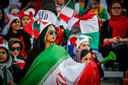 حضور زنان در ورزشگاه آزادی | Hossein Paryas