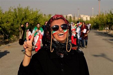 حاشیه دیدار تیم ملی فوتبال ایران - کامبوج | Arshideh Shahangi
