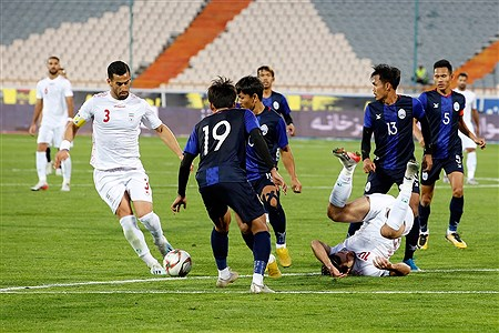 دیدار تیمهای ملی فوتبال ایران و کامبوج   Hossein Paryas