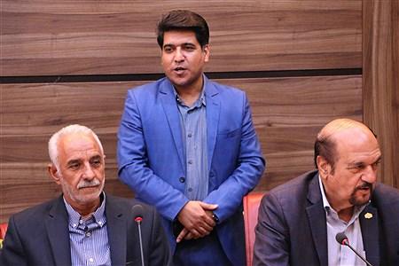 نشست خیرین حامی دانش آموزان بازمانده از تحصیل شهرستانهای استان تهران | Hadi Belali