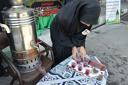 برپایی اولین موکب دانش آموزی در شهرستان فیروزکوه | Faetemeh shahhosseini