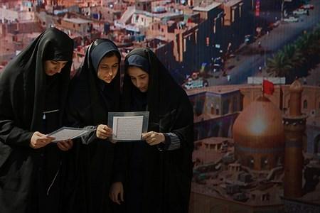 برنامه نمادین پیاده روی در اربعین  دانش آموزان دبیرستان شاهد باهنر    Zahra Alihashemi