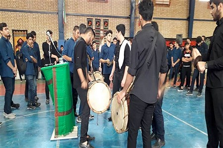 اربعین حسینی در دبیرستان شهید مطهری ( شاهد پسران ) بوشهر | Meysam Mehrzadeh