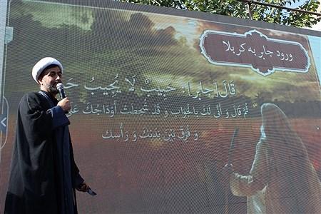 شورحضورعاشقان حسینی جامانده ازسفرکربلا درراهپیمایی اربعین شهرری | Fateme Gadamzadeh