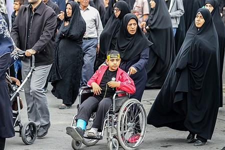 پیاده روی جاماندگان کربلا در ارومیه | Amir Hosein Mollazade