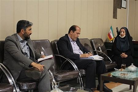 بازدید گروه ارزیابی و نظارت سازمان دانش آموزی مرکز از فعالیت های سازمان استان همدان |