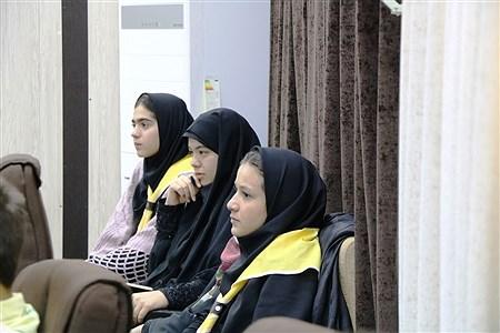 آیین تجلیل از برترین های اردوی ملی پیشتازان سازمان دانش آموزی در ارومیه 1 | Reza Maroufi