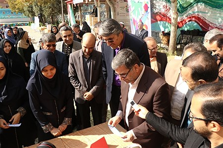 آیین نمادین بیست و دومین دوره انتخابات شورا های دانش آموزی خراسان رضوی   