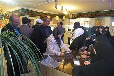 مراسم نمادین انتخابات شورای دانش آموزی | Sahar Chahardoli