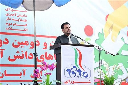 انتخابات شورای دانش آموزی در آموزشگاه دخترانه نمونه دولتی شهید زهرهوند قرچک  | Akbar Khalili