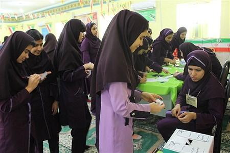 انتخابات شوراهای دانش آموزی مدارس بوشهر | Zynab Pakbaz