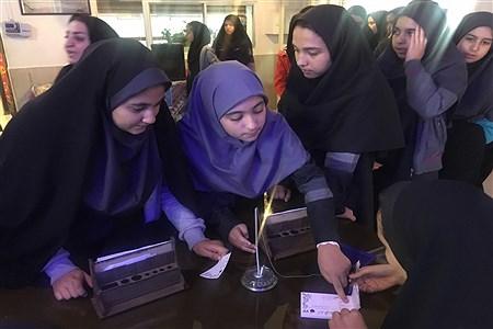 مراسم نمادین انتخابات شورای دانش آموزی |