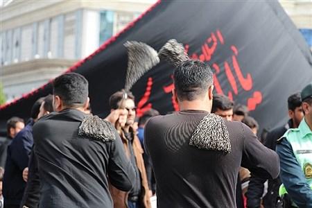 مراسم سوگواری  ۲۸ صفر مصادف با رحلت پیامبراکرم(ص)وشهادت امام حسن مجتبی (ع) درخیابان های منتهی به حرم مطهر رضوی | Ehsan hadi