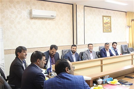 جلسه کارگروه برگزاری مانور زلزله استان قم | Mahdi Janati