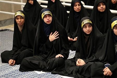 دیدار هزاران نفر از دانشآموزان و دانشجویان  با رهبر انقلاب اسلامی | leader.ir