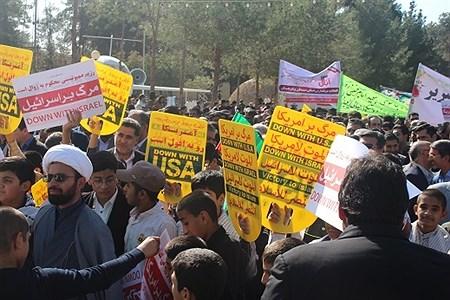 حضور پرشور دانش آموزان زاهدانی در راهپیمایی 13 آبان | hosein piran