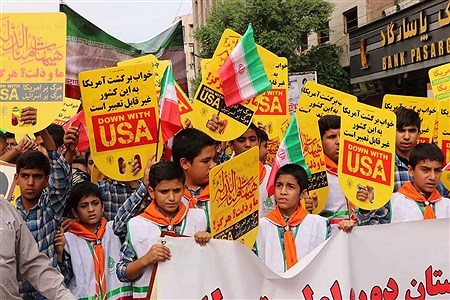 راهپیمایی 13 آبان در اهواز  | Tannaz Golzadeh