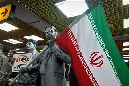 13 آبان از نگاه خبرنگار دانش آموزان تهرانی | Bahram Paydar