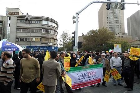 13 آبان از نگاه خبرنگار دانش آموزان تهرانی | Setayesh Alyasin