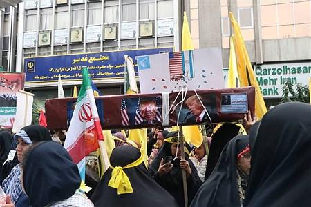 13 آبان از نگاه خبرنگار دانش آموزان تهرانی | Sheyda Rahimi
