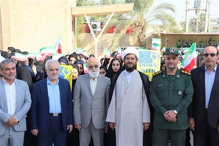 زنگ استکبار ستیزی در بوشهر | Baran Hajiahi
